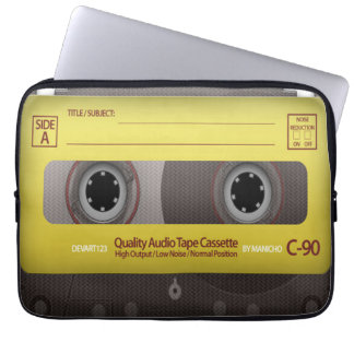 My Favorite Songs Cassette Tape Case Cover Laptop Sleeve