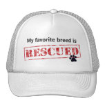 My Favourite Breed Is Rescued Cap