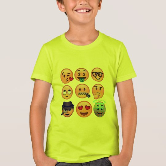 my favourite emojis funny shirt-design T-Shirt