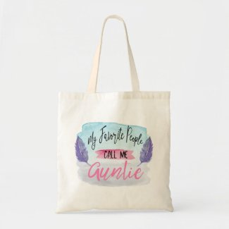 My Favourite People Call Me Auntie Tote Bag