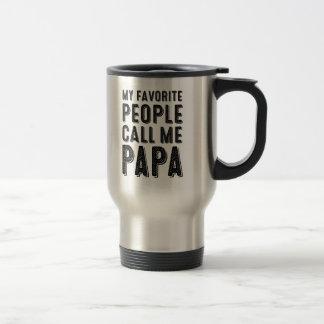 My Favourite People Call Me Papa Mug