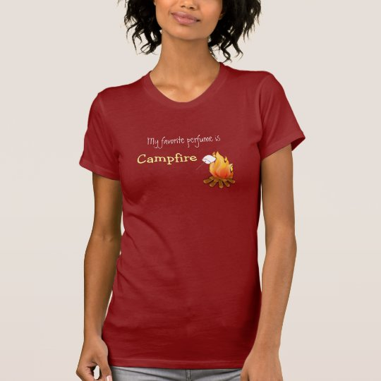 My favourite perfume is campfire Camping Hiking T-Shirt