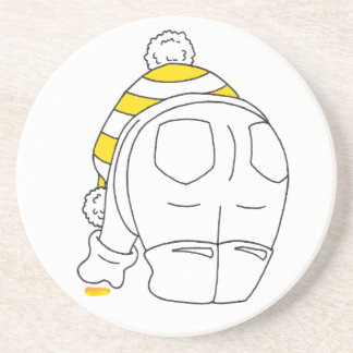 My favourite sea glass is yellow coaster