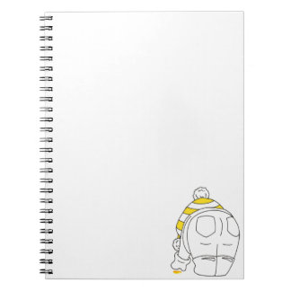 My favourite sea glass is yellow notebook