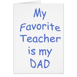 Consider, my favourite teacher all?