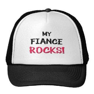 My Fiance Rocks Trucker Hat