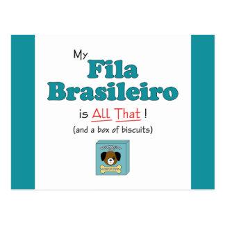 My Fila Brasileiro is All That Postcard