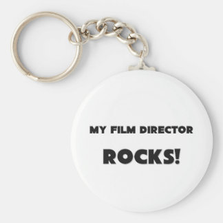 MY Film Director ROCKS! Basic Round Button Key Ring