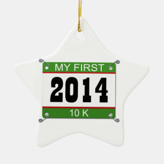 My First 10K - 2014 Christmas Ornament