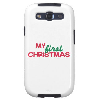My first 1st christmas galaxy s3 cases