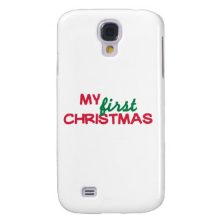 My first 1st christmas galaxy s4 case