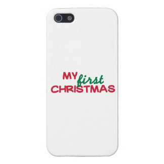 My first 1st christmas cases for iPhone 5
