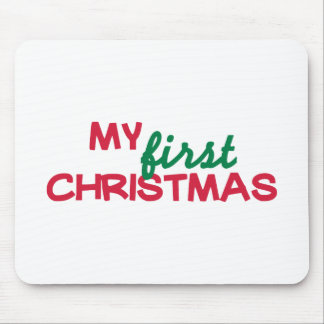 My first 1st christmas mousepad