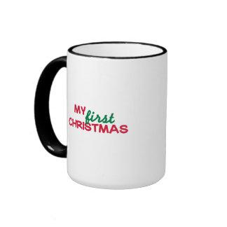 My first 1st christmas coffee mug