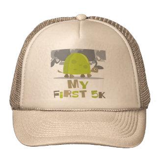 My First 5K Turtle Baseball Cap