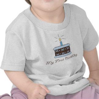 My First Birthday Cake Boy T shirt