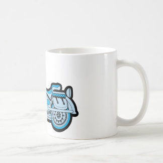 My First Blue Motorcycle Mugs