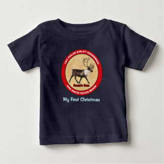 My First Christmas - 1st Polar Airlift Squadron Baby T-Shirt