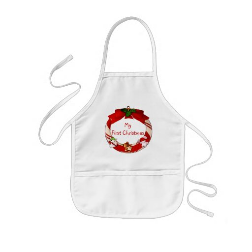 My First Christmas Baby Apron