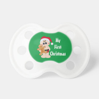 My First Christmas Booginhead Pacifier