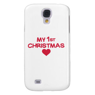 My first christmas samsung galaxy s4 case