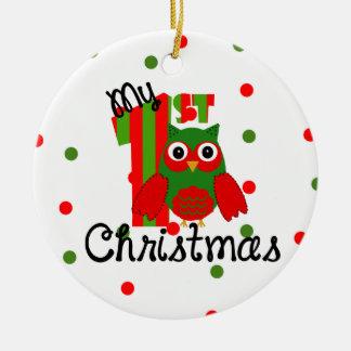My first Christmas Christmas Ornament