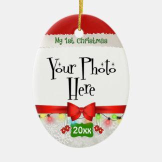 My First Christmas Custom Christmas Ornament