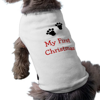 My First Christmas Dog Shirt