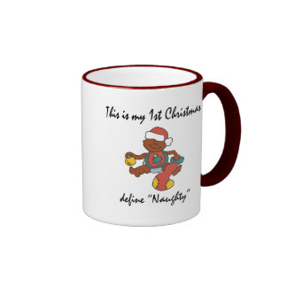 My First Christmas Gift Ringer Mug