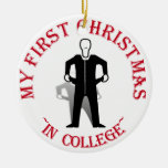 My First Christmas In College Christmas Tree Ornament