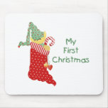 My First Christmas Mousepad