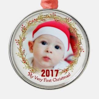 My first christmas photo christmas ornament