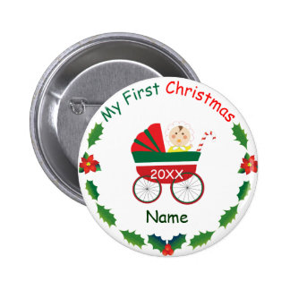 My First Christmas Pins
