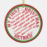 My First Christmas Retired Photo Frame