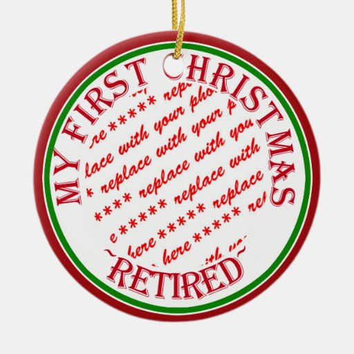 My First Christmas Retired Photo Frame Christmas Ornament