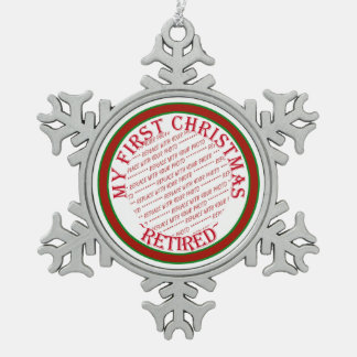 My First Christmas Retired Photo Frame Pewter Snowflake Decoration