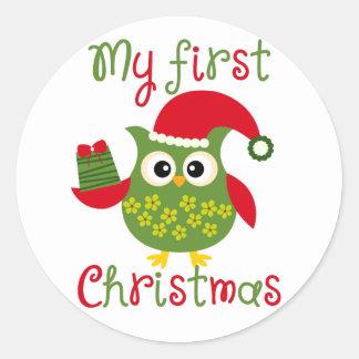 My First Christmas Sticker