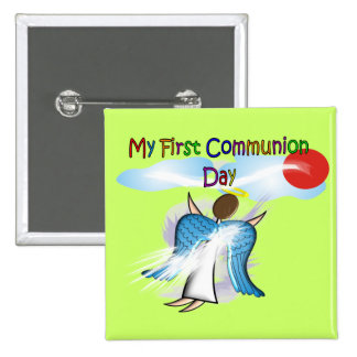 My First Communion Day Gifts 15 Cm Square Badge