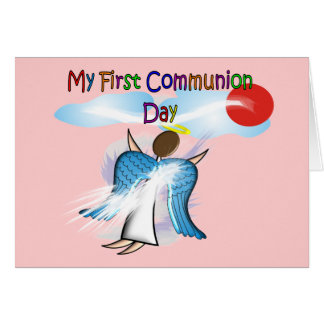 My First Communion Day Gifts Greeting Card