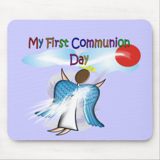 My First Communion Day Gifts Mousepad