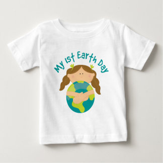 My First Earth Day Girl Baby T-Shirt