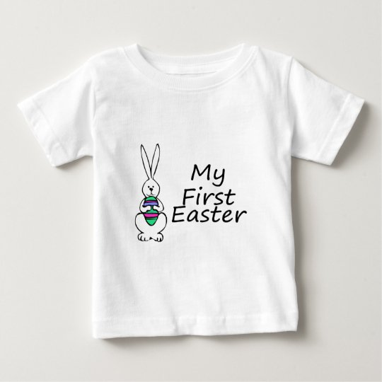 My First Easter Bunny Baby T-Shirt