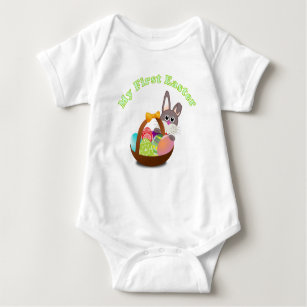 Baby first easter gifts gift ideas zazzle uk my first easter shirt for baby easter gift negle Images