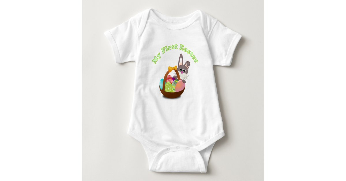 My first easter shirt for baby easter gift zazzle negle Choice Image