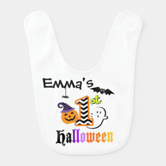 My First Halloween BIB for Baby Boy or Baby Girl
