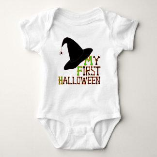 My First Halloween Little Witch Baby Bodysuit