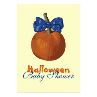 My First Halloween Pack Of Chubby Business Cards