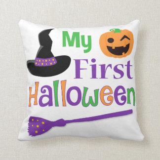 My First Halloween Pillow