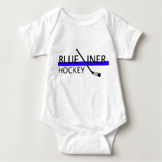 My First Hockey Suit Baby Bodysuit