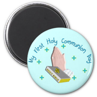 My First Holy Commmunion Day Gifts 6 Cm Round Magnet